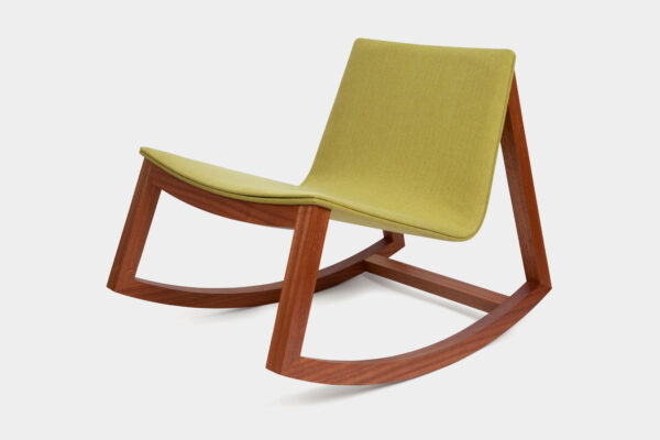 Modern Irish rocking chair, made for a Dublin home