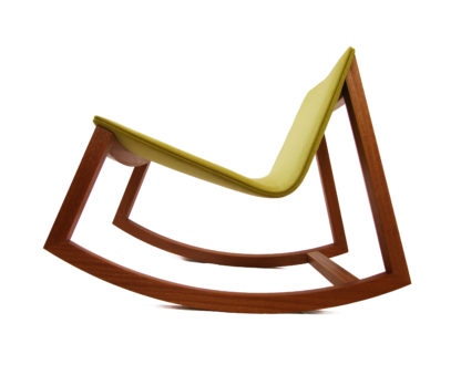 Modern Irish made rocking chair, designed by Coolree Design. Perfect to use as a nursery rocking chair, or for the modern living room