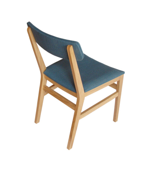 Coolree Design made this modern dining chair using sustainable methods in their Kildare workshops, just 20 minutes from Dublin