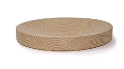 Modern wood fruit bowl, hand made in Ireland. Contemporary take on the traditional wood bowl, this Irish made fruit bowl is the perfect centrepiece for the kitchen table