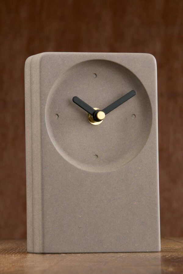 Modern Irish desk clock