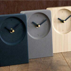 Set of modern Irish desk clocks