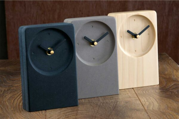 Set of modern Irish desk clocks
