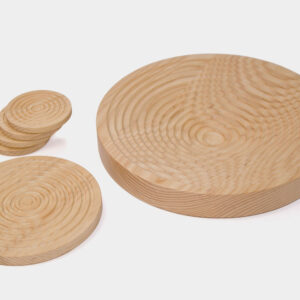 Modern Irish bowl, trivet and coasters