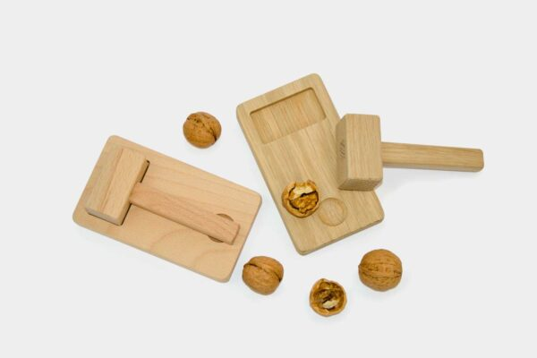 Set of modern Irish nut crackers
