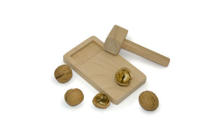 Irish made nutcracker with its own wood mallet. Buy Irish made gifts and furniture online from Ireland's leading gift store. These compact nut crackers are the perfect birthday gift idea for him and her