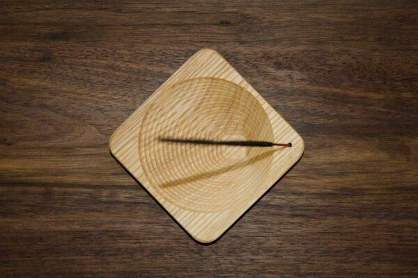Modern incense holder, hand made in Ireland