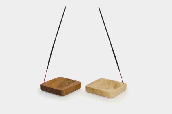 Set of modern Irish incense holders