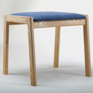 Modern stool, handmade in Ireland