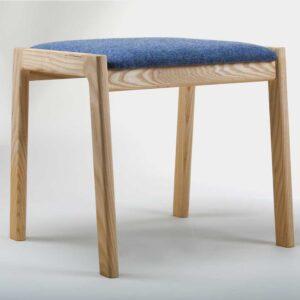 Modern stool, handmade in Ireland