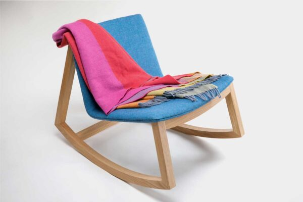 Modern Irish rocking chair, hand made in Ireland